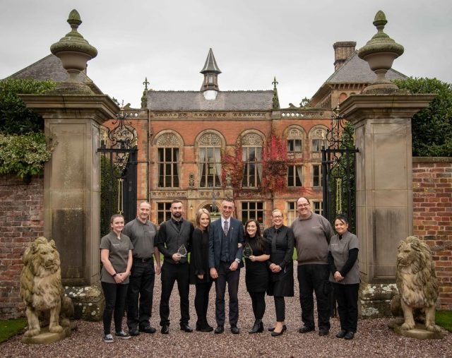 Best wedding venue in Wales staff photo