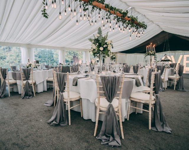 Soughton hall marquee
